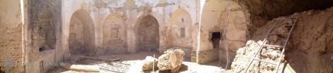 Photos : le mausolée du couvent de Mar Behnam avant et après Daech