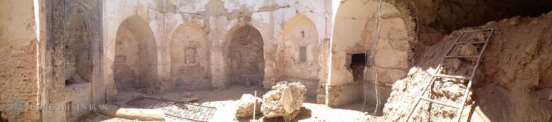 PHOTOS – Avant/Après : le couvent de Mar Behnam détruit par Daech