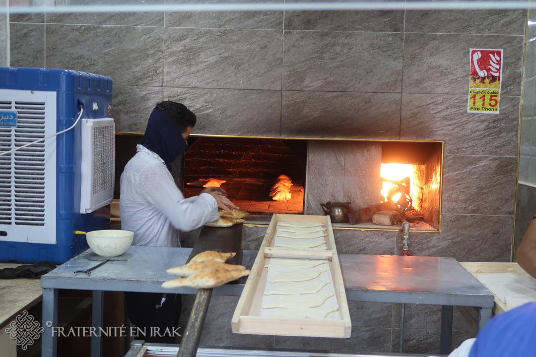 Une nouvelle boulangerie pour les déplacés de Suleymania !