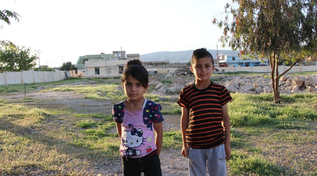 Rentrée imminente pour les enfants yézidis de Sherka
