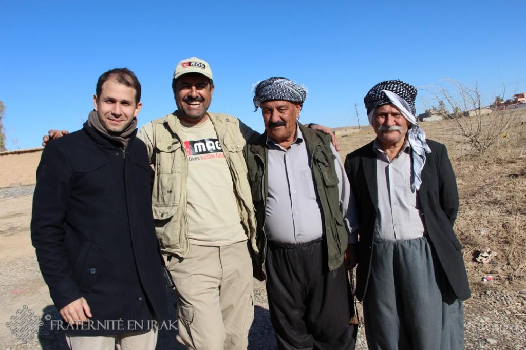 Faraj Benoit Camurat, MAG et les maires du village