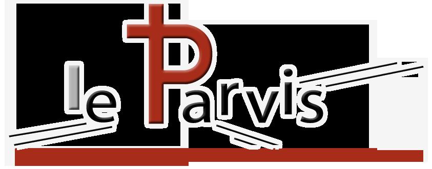 Logo - LE PARVIS le lieu ou la vie la spiritualité et l'art se rencontrent