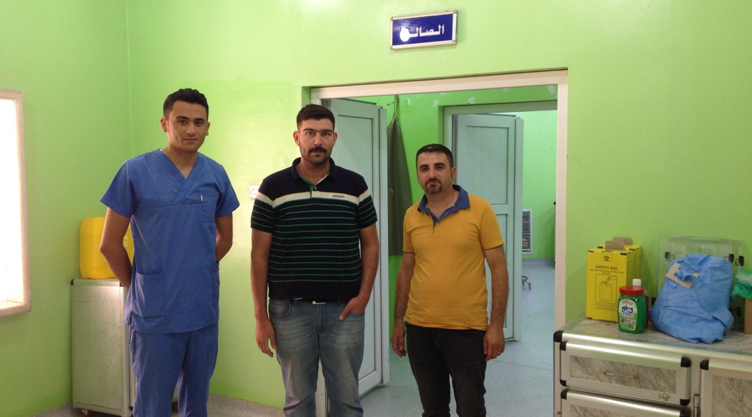 In Qaraqosh, Fraternity in Iraq helps reopen the hospital