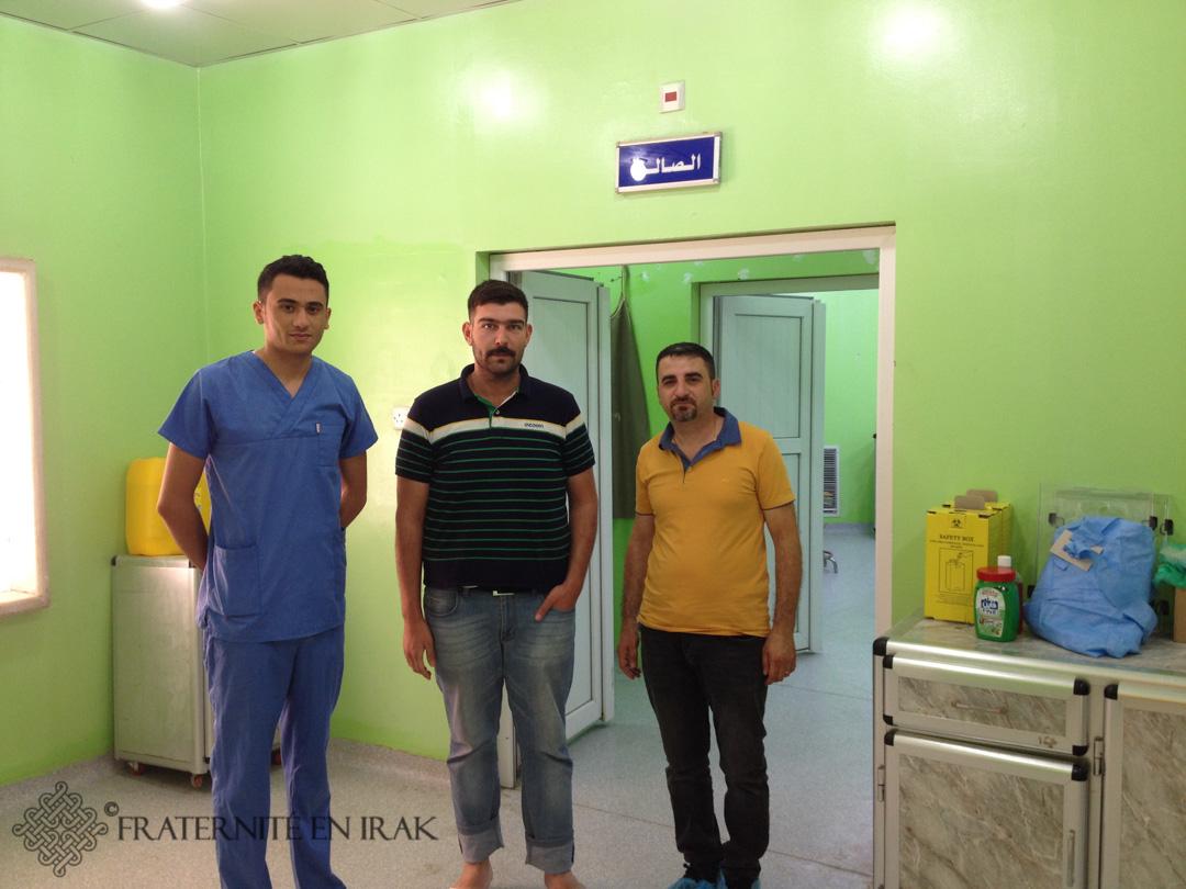À Qaraqosh, Fraternité en Irak aide à la réouverture de l'hôpital
