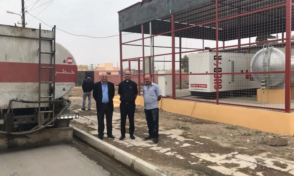 A Tellskof, Fraternité en Irak répond à l'urgence