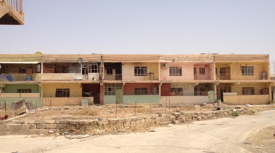 Rénover le quartier pauvre de Qaraqosh