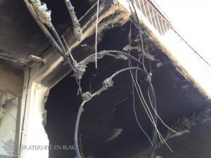réseaux électrique brulés