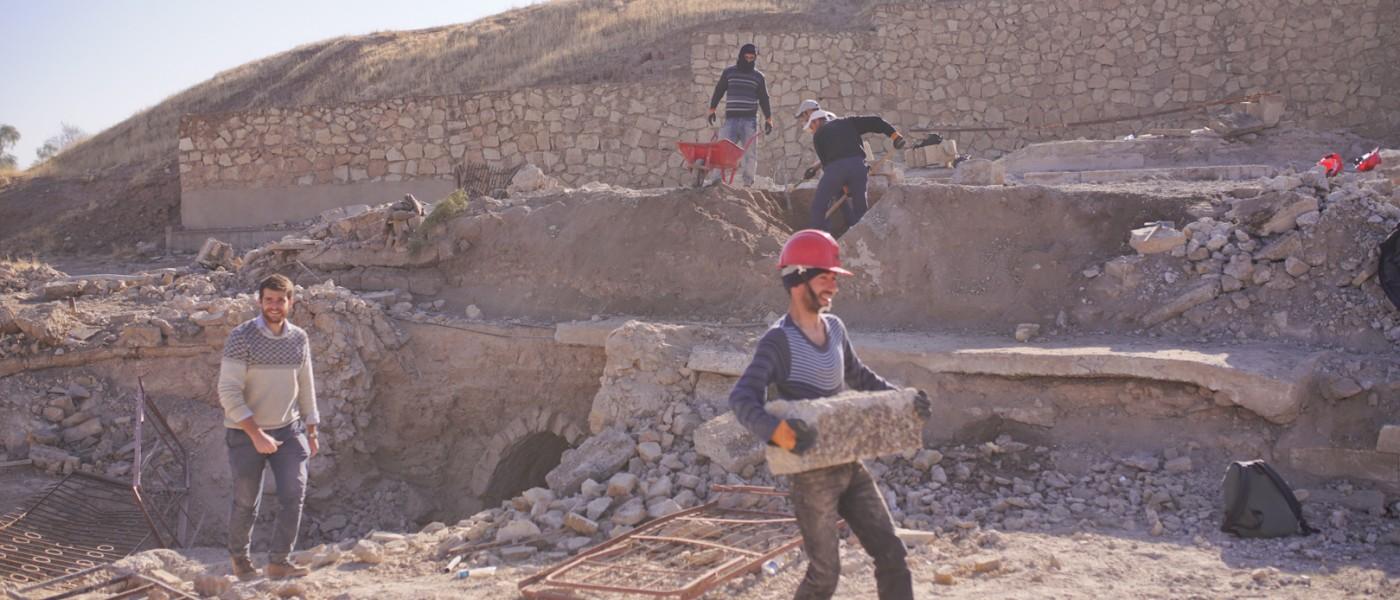 Nouvelle étape dans la reconstruction du monastère de Mar Behnam
