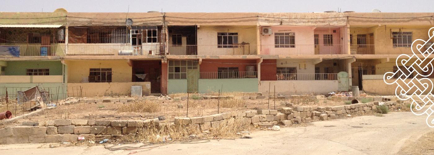 Rénovez le quartier pauvre de Qaraqosh
