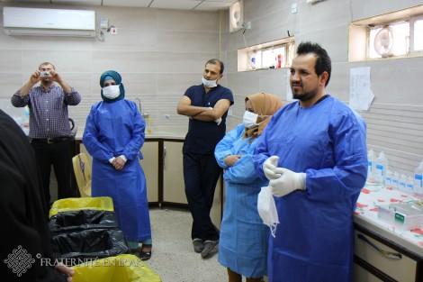 À Kirkouk, Fraternité en Irak aide la prise en charge des enfants atteints de cancer