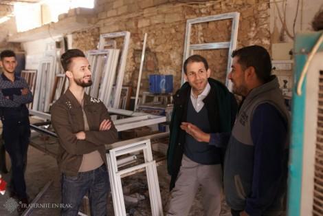 Trois questions à Rami, chargé de projet pour Fraternité en Irak