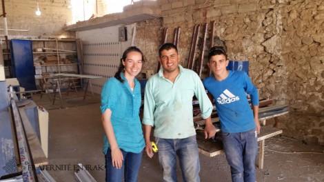 5 questions à Aude en mission d'un an pour Fraternité en Irak