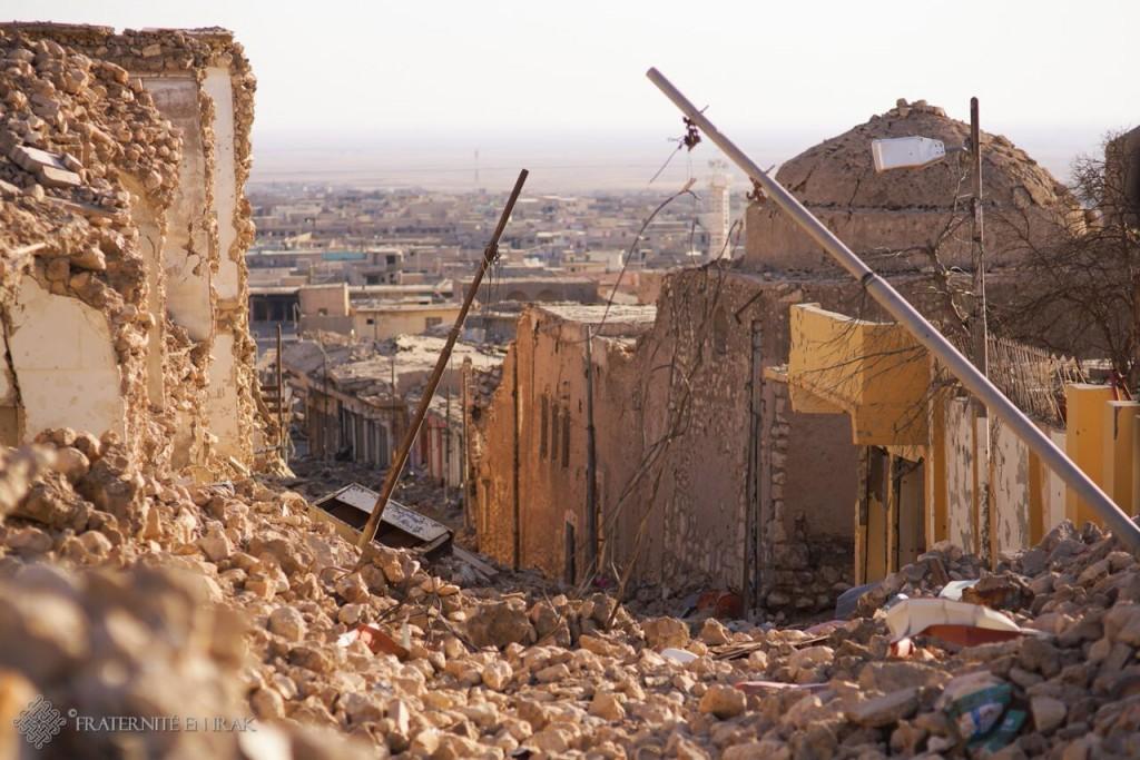 sinjar ville détruite