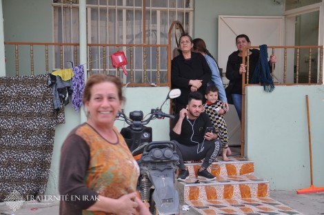 A Shaqaq, Bassima a retrouvé un logement et le sourire grâce à Fraternité en Irak