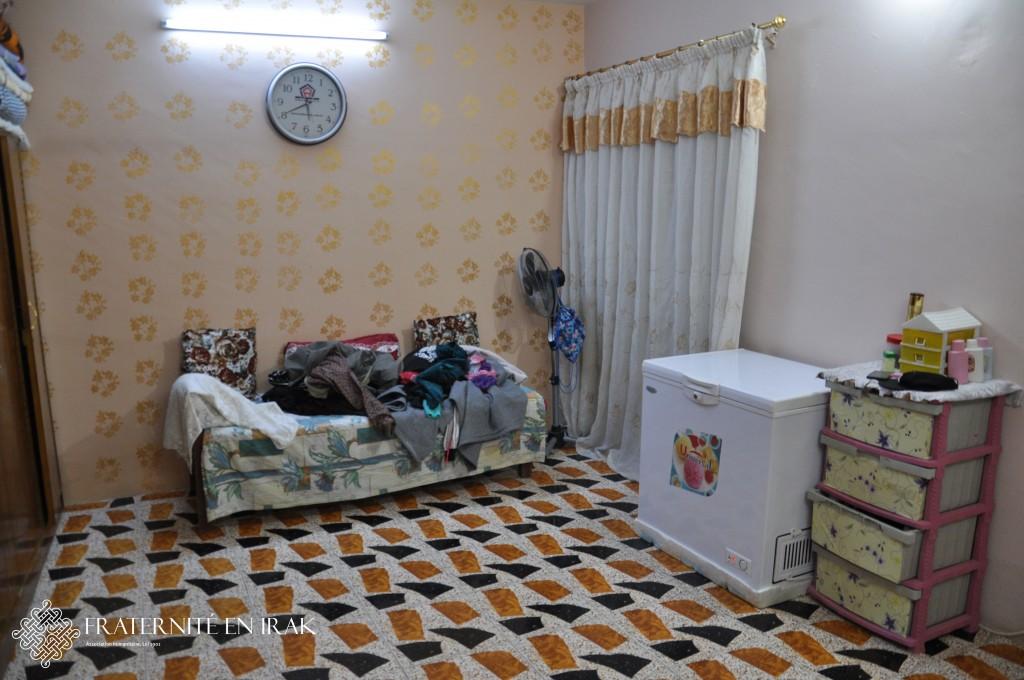 bassima retrouve logement et sourire qaraqosh fraternit en irak. Black Bedroom Furniture Sets. Home Design Ideas
