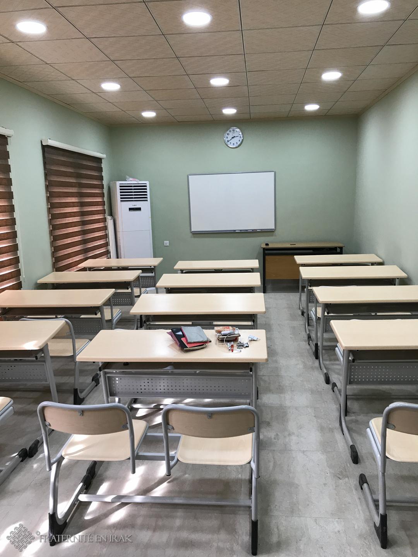 Le programme de formations initié par Fraternité en Irak à Erbil se poursuit et s'amplifie à Qaraqosh