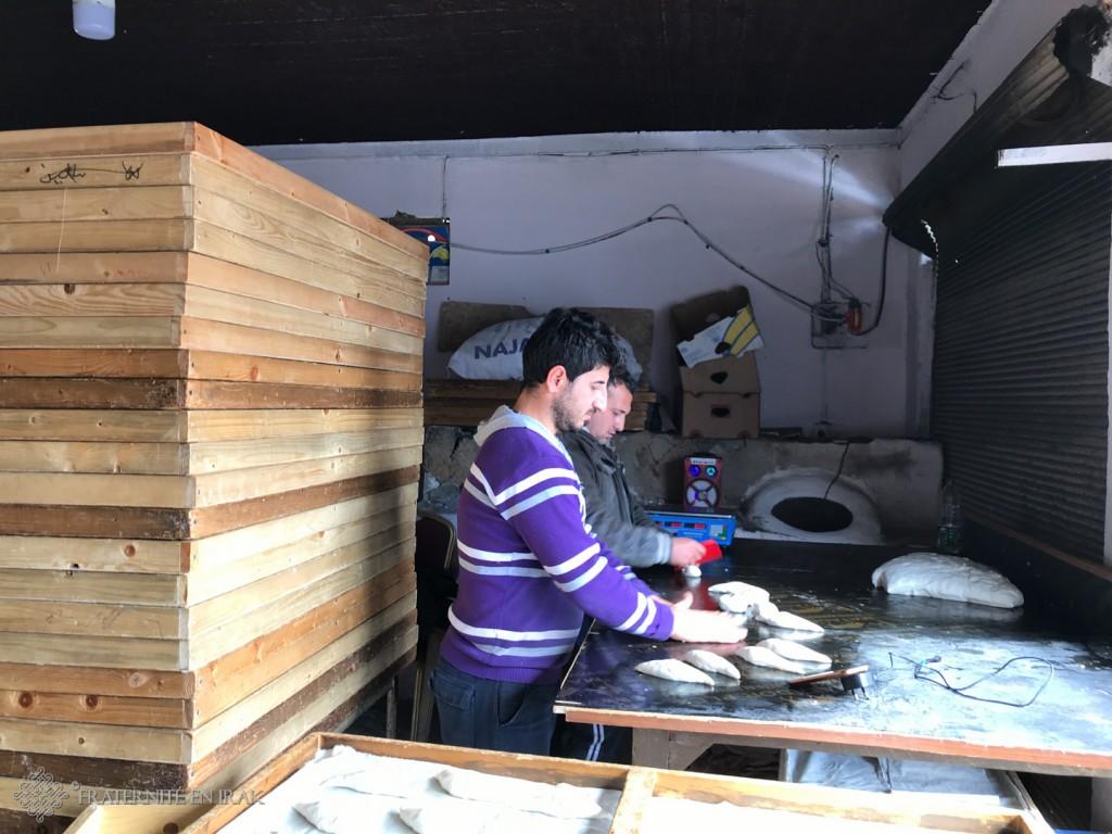 Wilson, le boulanger d'Ashti est rentré à Qaraqosh !
