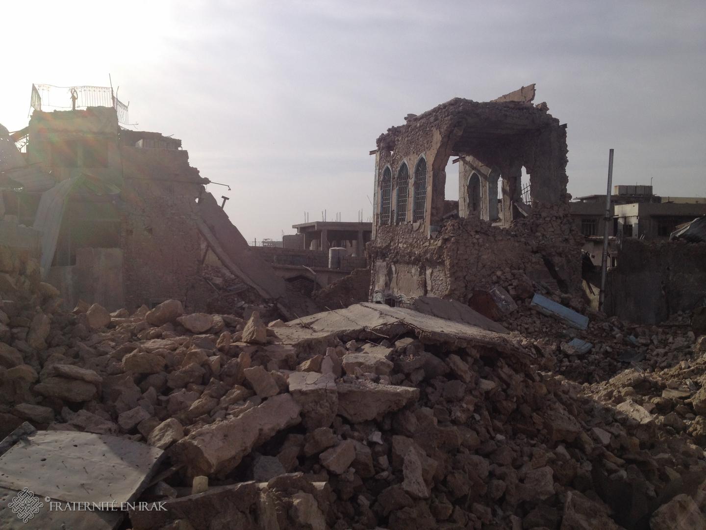 Un an après la défaite de Daech, Fraternité en Irak soutient les Chrétiens de Mossoul