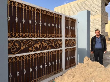 Naseer, un ferronnier déterminé pour reconstruire après Daech