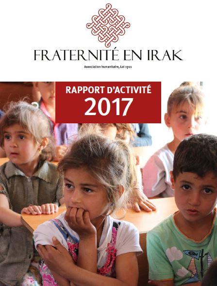 Le rapport d'activité 2017 de Fraternité en Irak est en ligne !