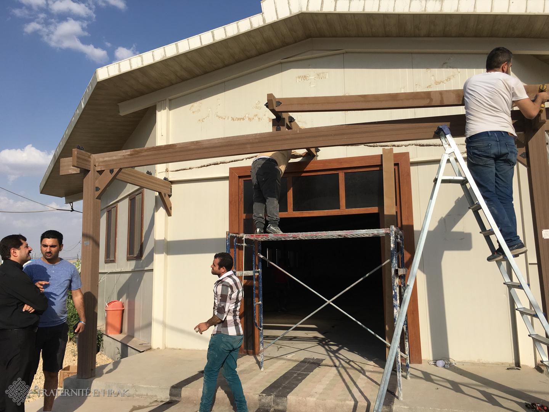 L'église du camp d'Ashti rentre à Mossoul avec les déplacés !