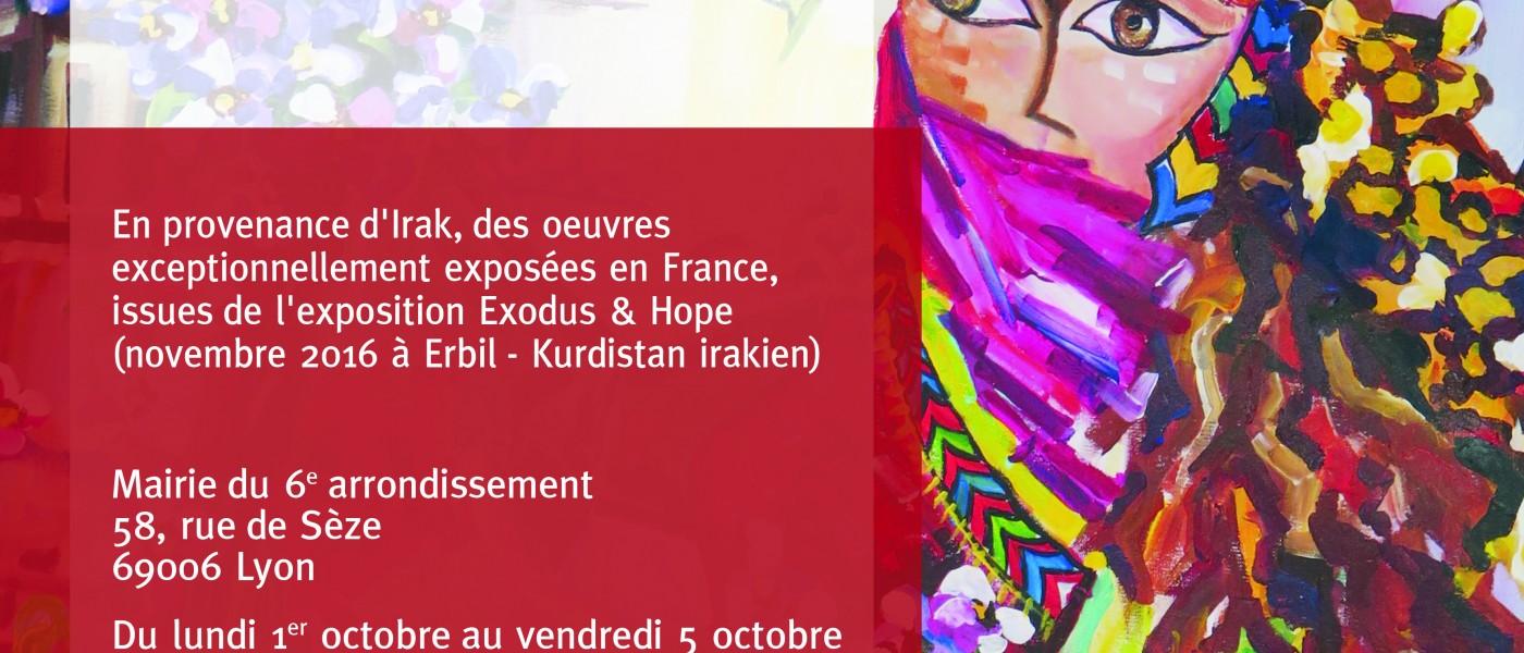 LYON – La mairie du 6e accueille l'exposition Exode et Espérance