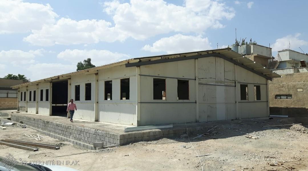 Noël 2018 : deux églises pour les chrétiens de Mossoul !