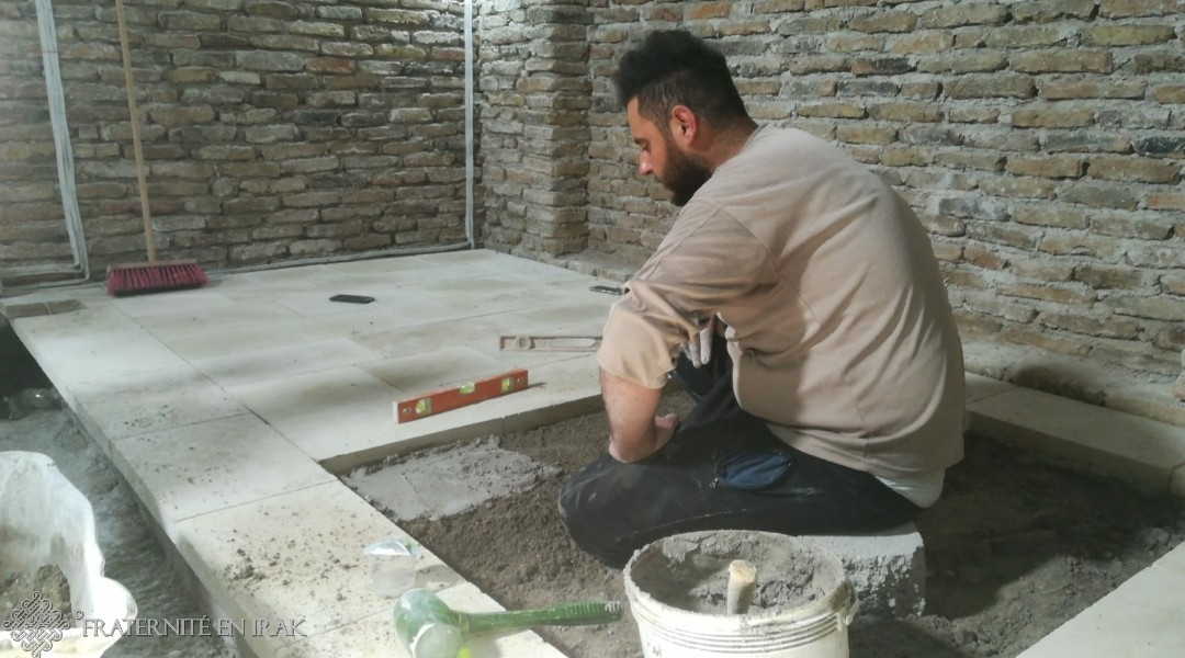 Restoration work in Mar Behnam is soon over!