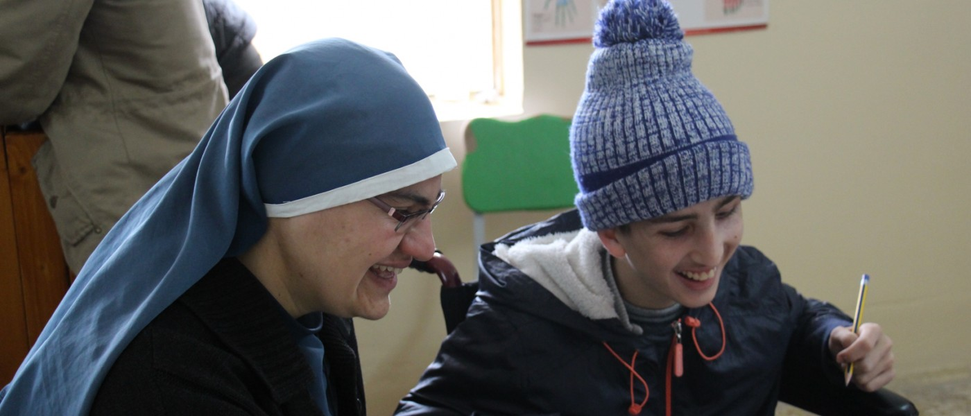 Fraternity in Iraq needs your support to build a home for Qaraqosh's disabled children!