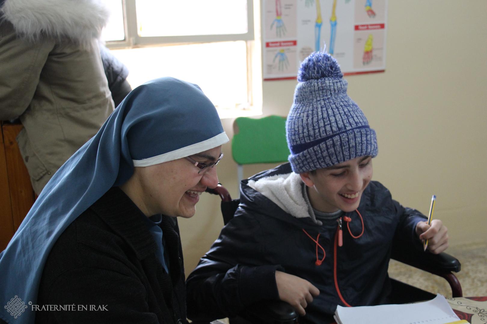 Aidez Fraternité en Irak à construire une maison pour les enfants handicapés de Qaraqosh