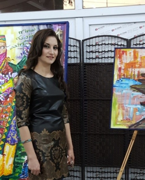 Rencontre avec Ruaa, artiste Qaraqoshie aux multiples talents