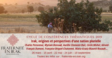 Cycle de conférences thématiques 2019