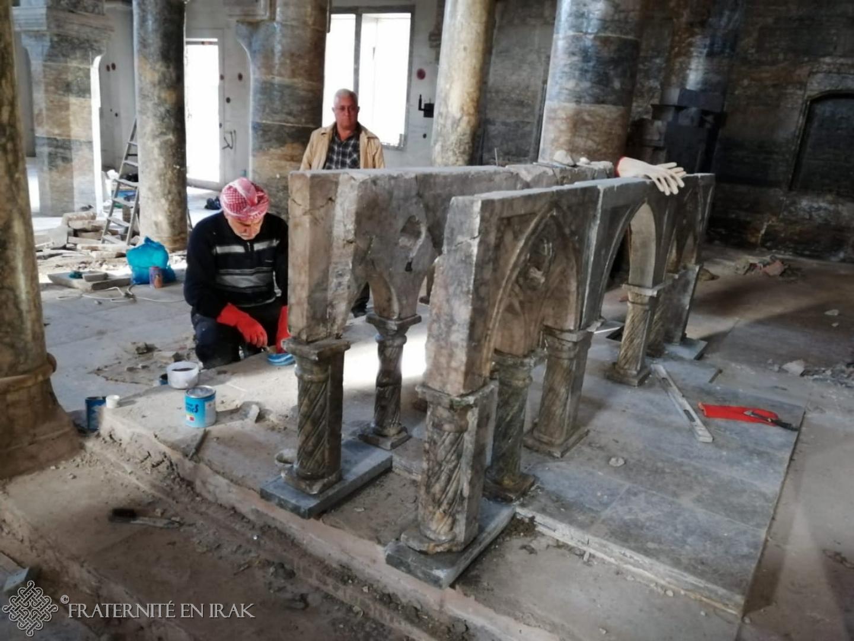 A Mossoul, Fraternité en Irak au chevet de l'église Mar Toma
