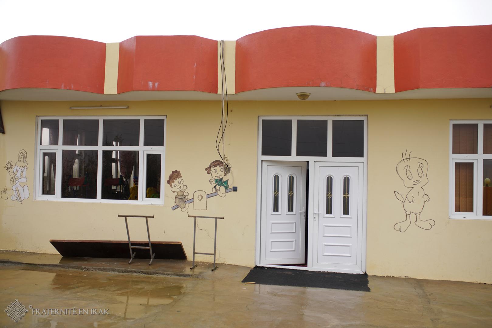 A Levo, Fraternité en Irak a rénové une salle de classe