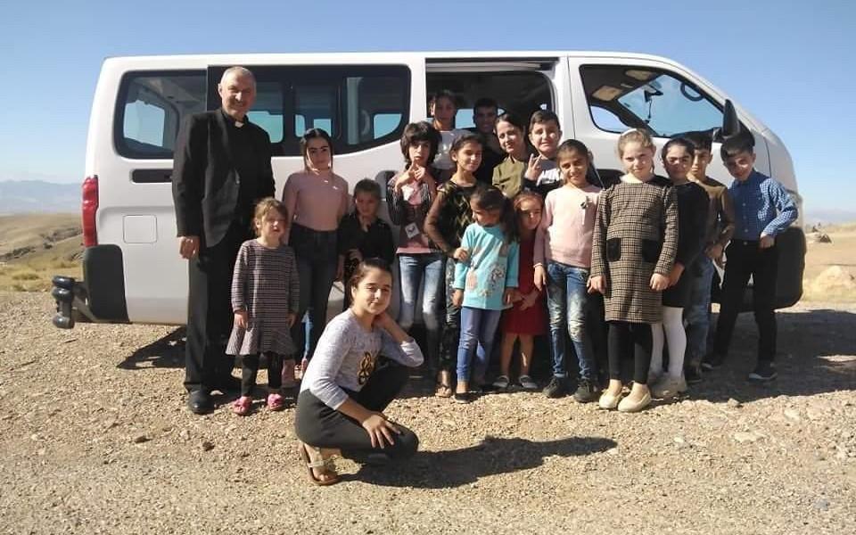 Des bus pour désenclaver les villages chrétiens du nord de l'Irak