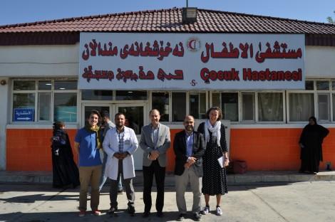 Construire un centre pour les enfants autistes de Kirkouk