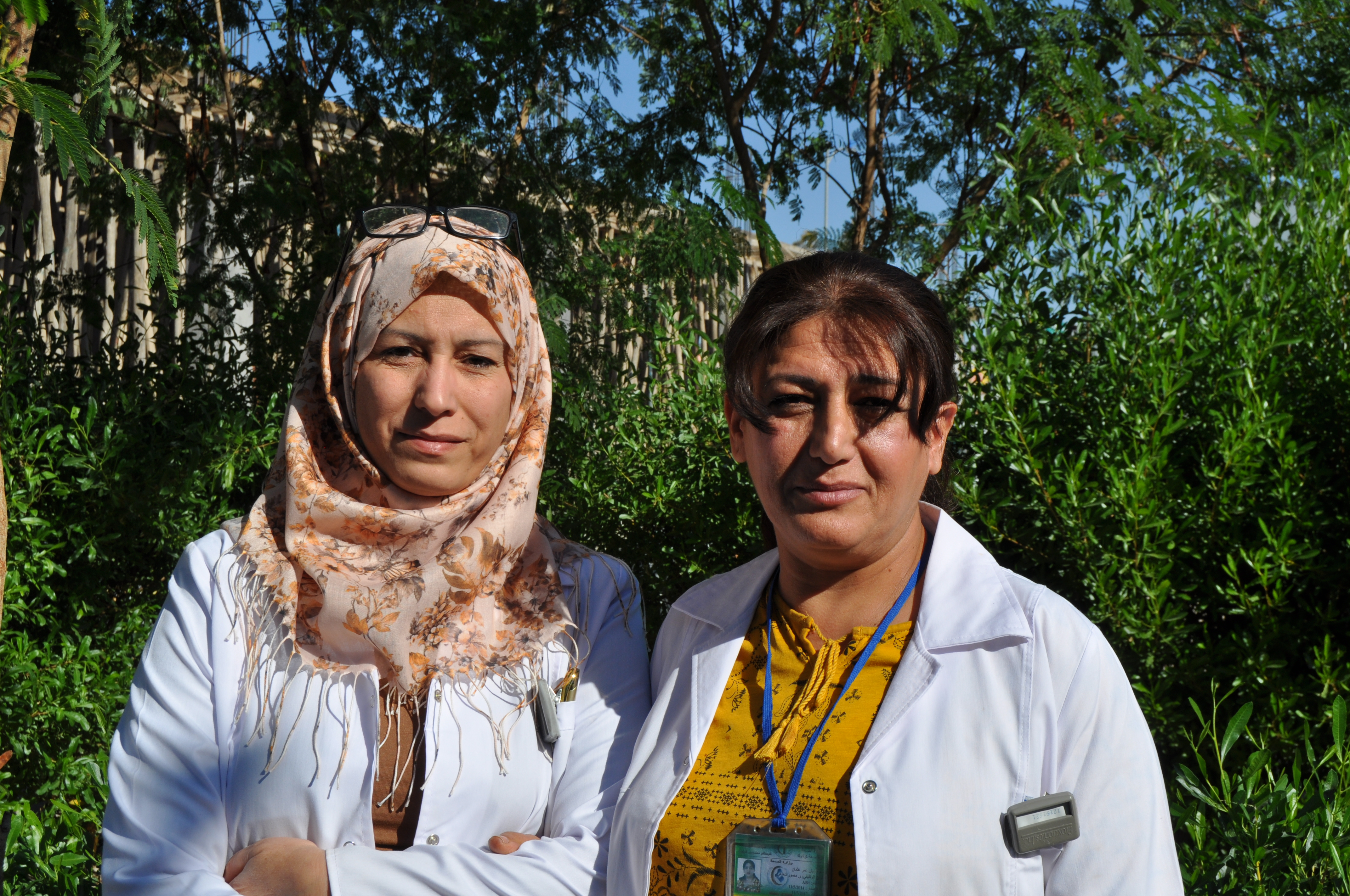 Two years of support to the oncology unit at Kirkuk hospital