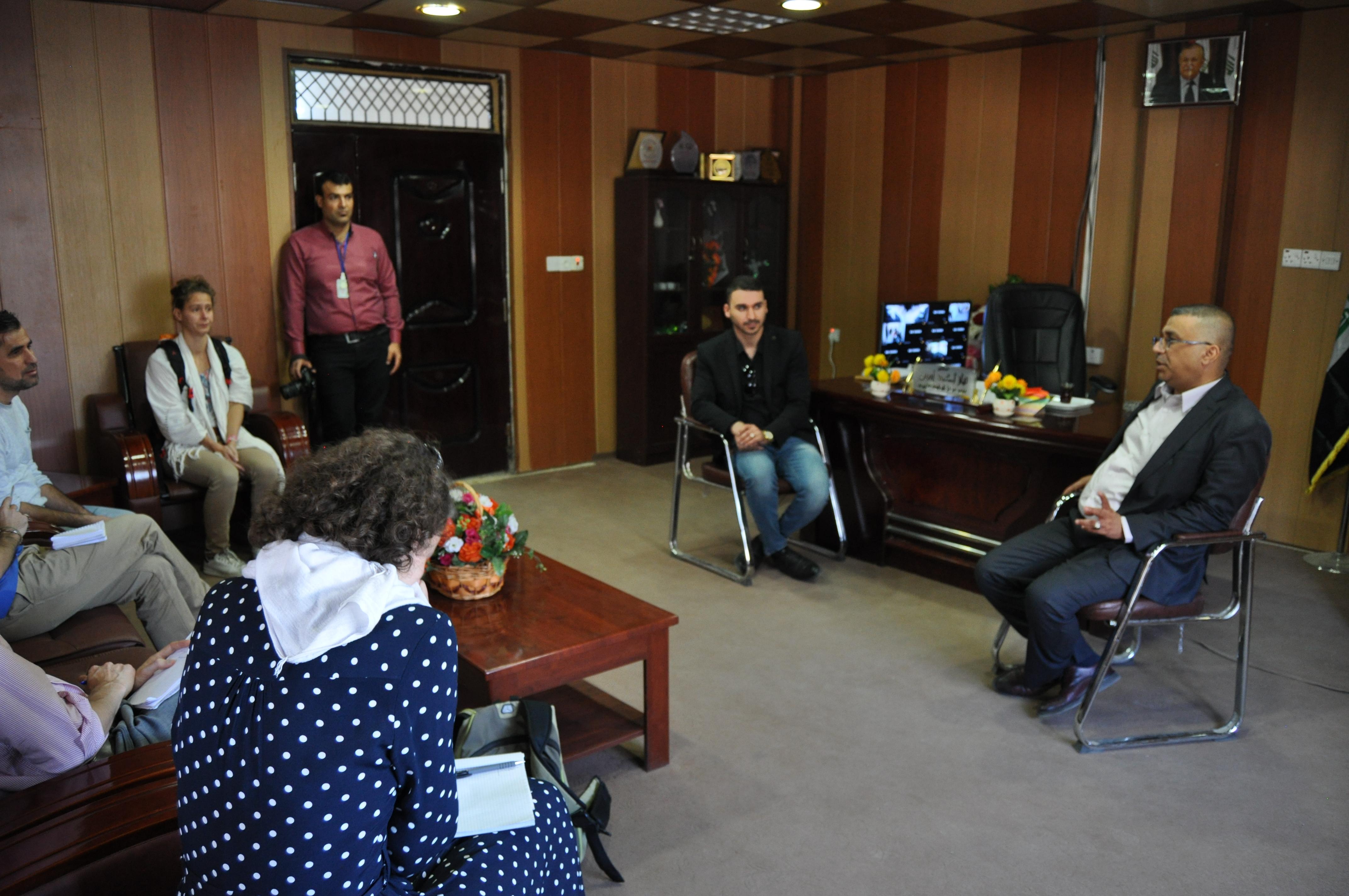 Kirkouk_Centre_oncologique_rencontre_directeur_Dr_Niaz