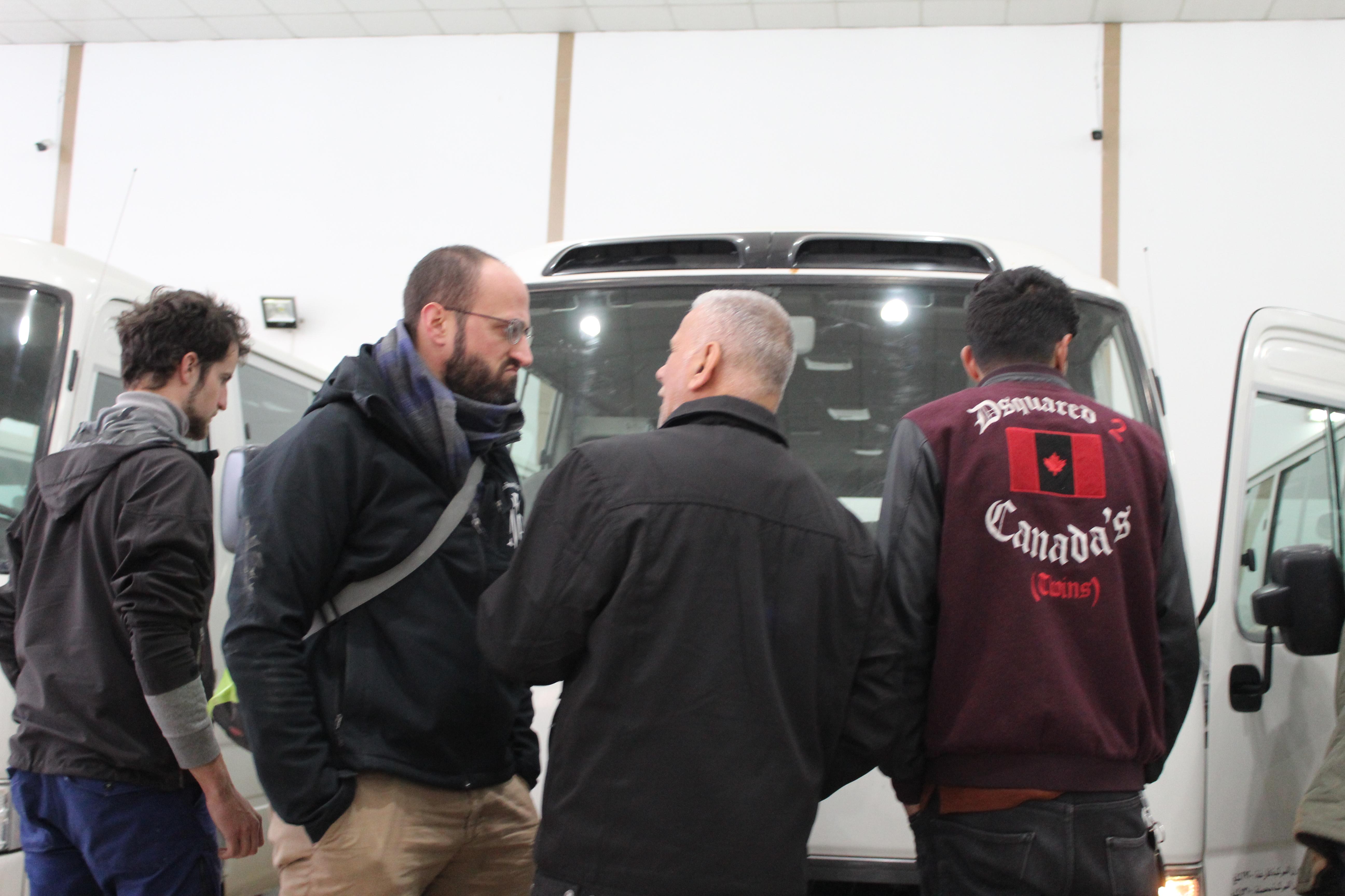 Prospective bus Erbil pour Abouna Farid (1)