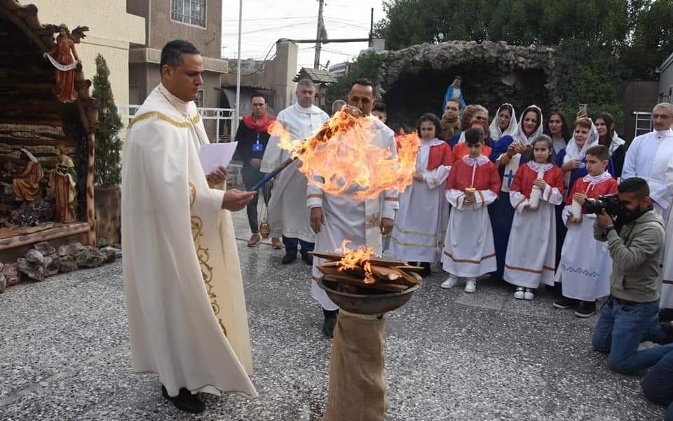 Fraternité en Irak soutient 12 paroisses de Bagdad !