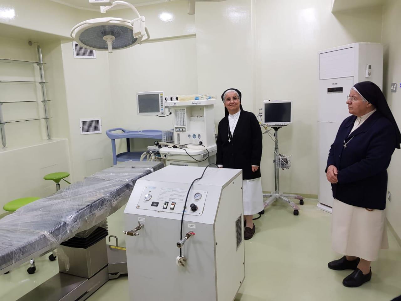 Fraternité en Irak soutient le principal hôpital de Bagdad par l'achat d'équipements vitaux