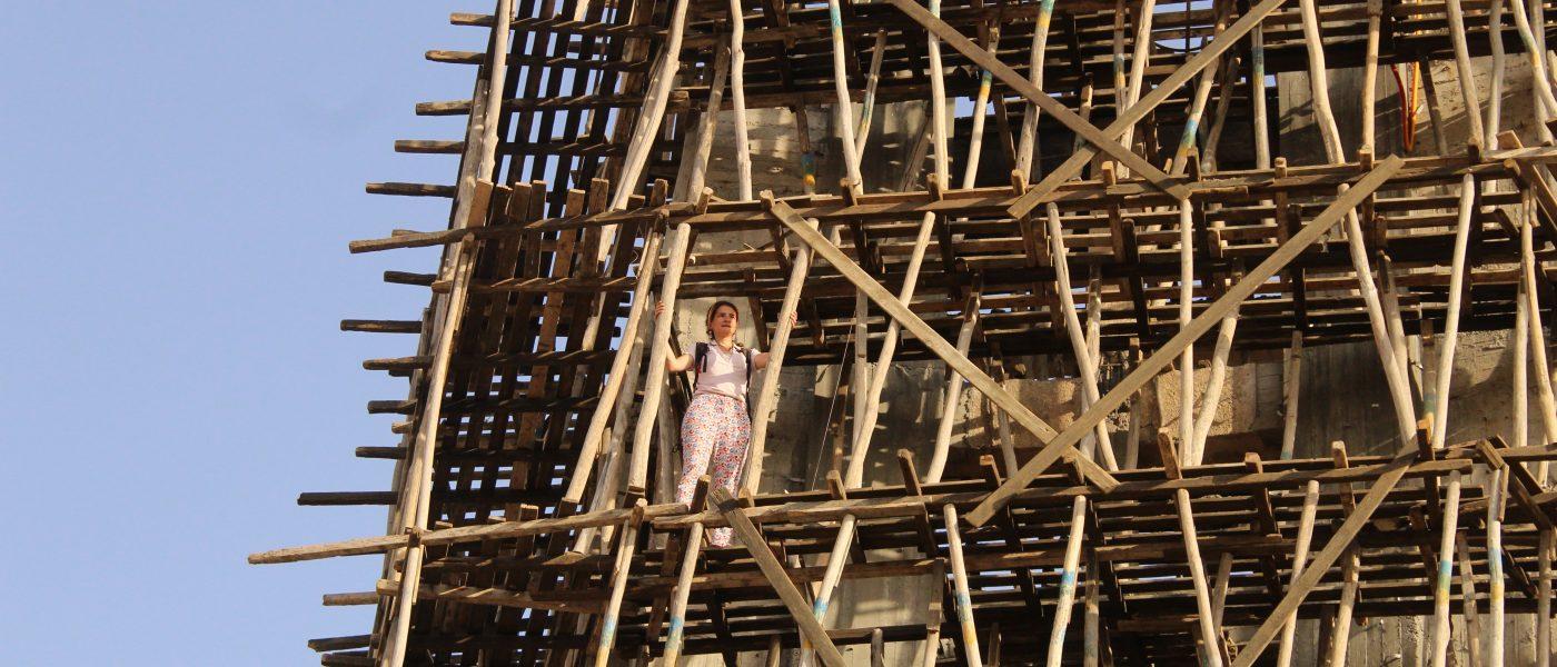 Rénovation du clocher de Mar Yohanna à Qaraqosh