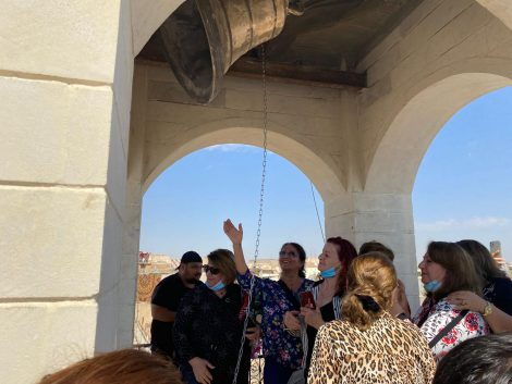 Nouvelle cloche de Mar Toma : l'espoir des chrétiens de Mossoul